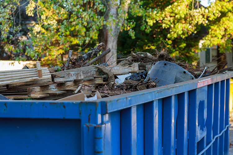afval container verhuur